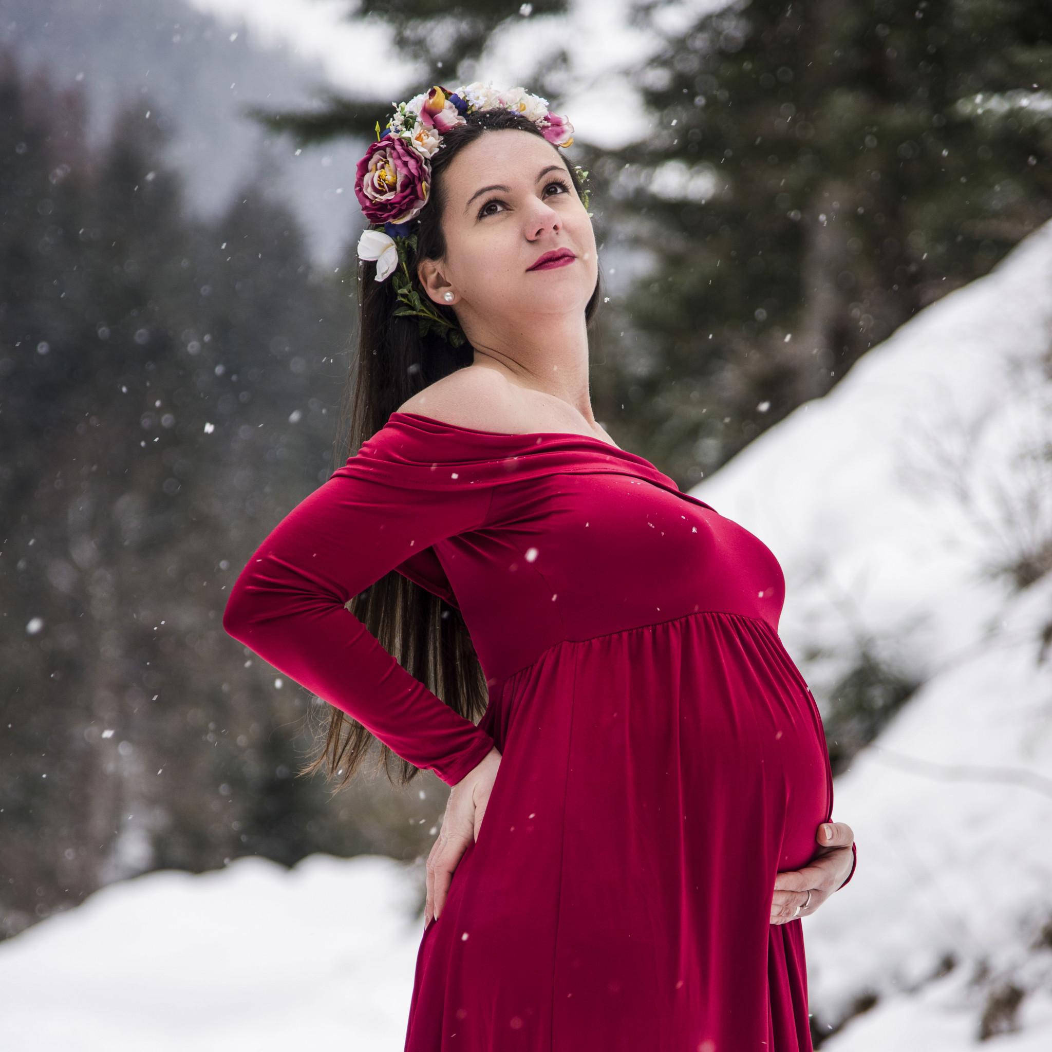 LENKA & MAREK tehotenské fotenie