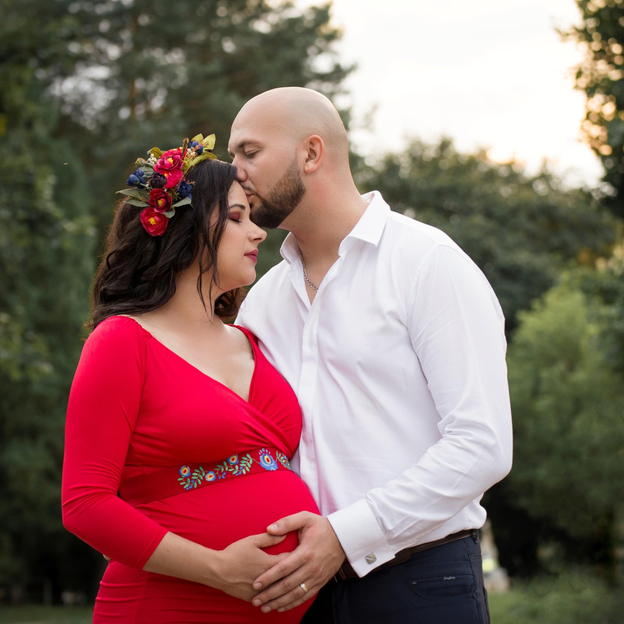 Robko a Timka tehotenské fotografie