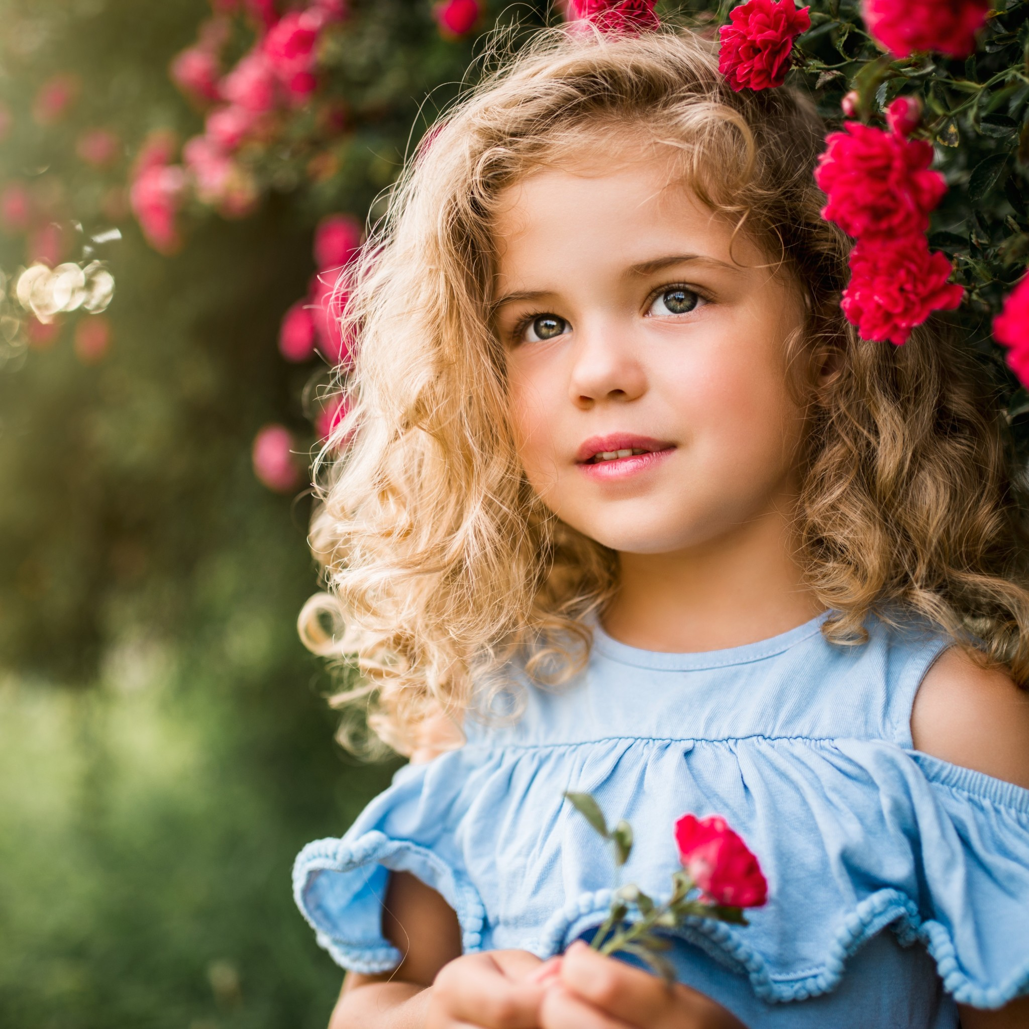 Detské portrétne fotografie